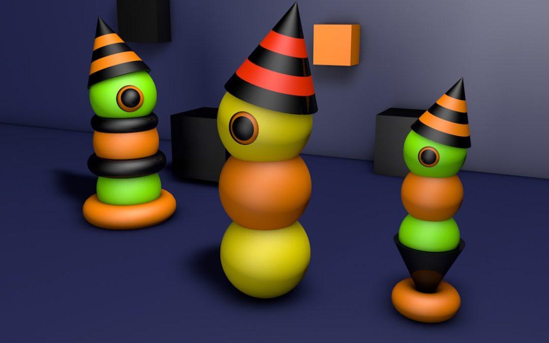 Worms 3D Halloween