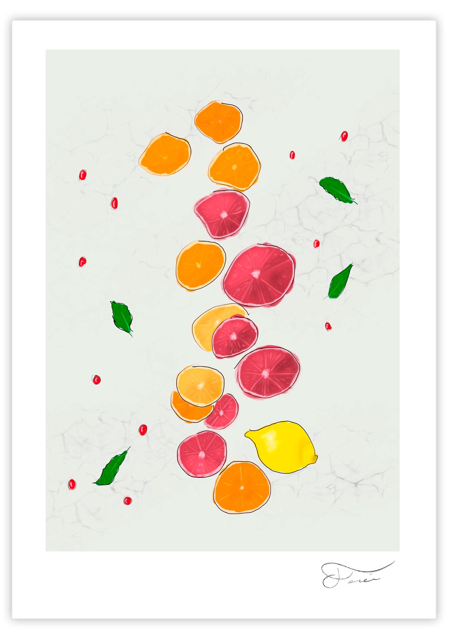 Citrus ilustración Carlos Forcén