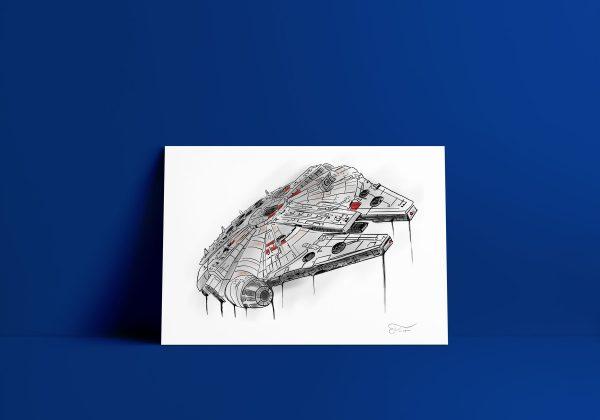 Ilustración digital realizada por Carlos Forcén