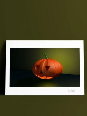 Halloween worms 3D Carlos Forcen lámina
