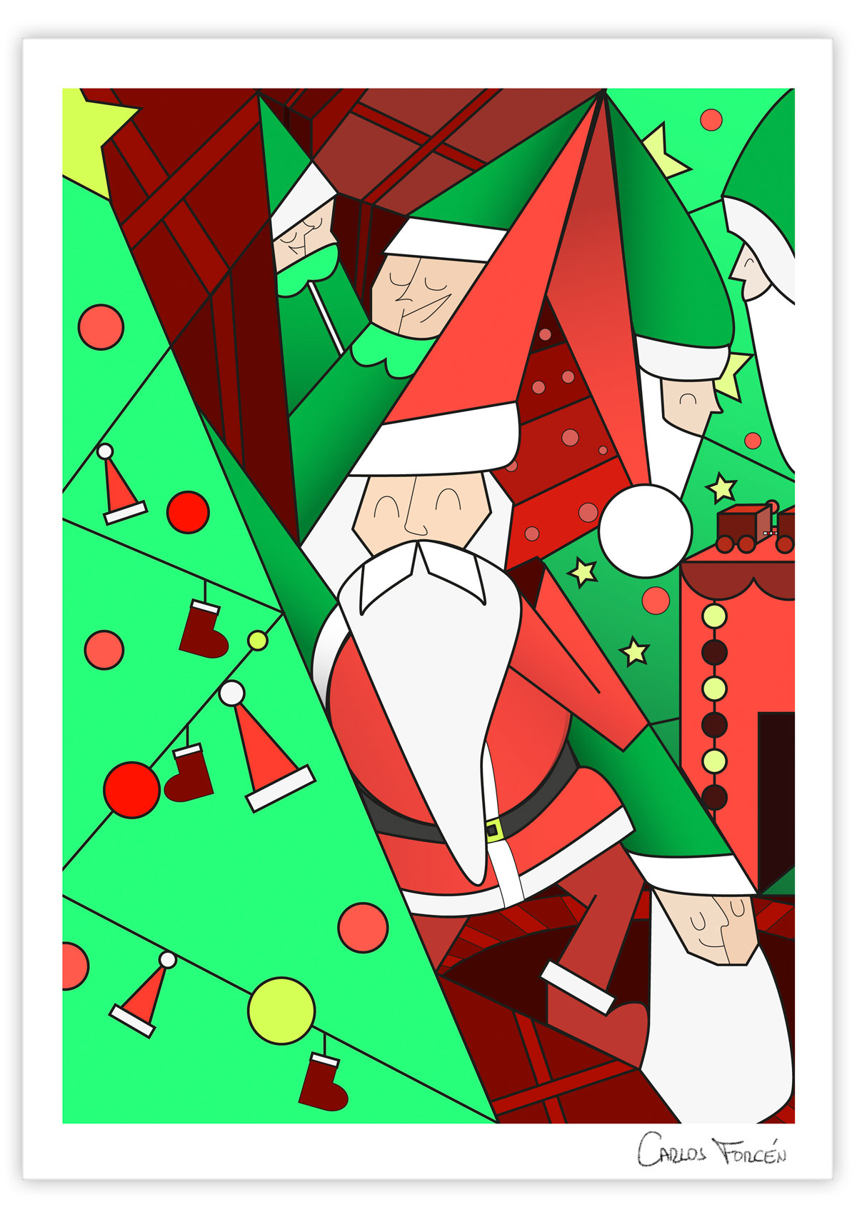 Santa Christmas - Carlos Forcen