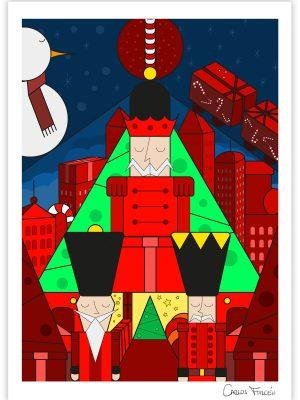 The Nutcrackers - Carlos Forcen Ilustracion firmada