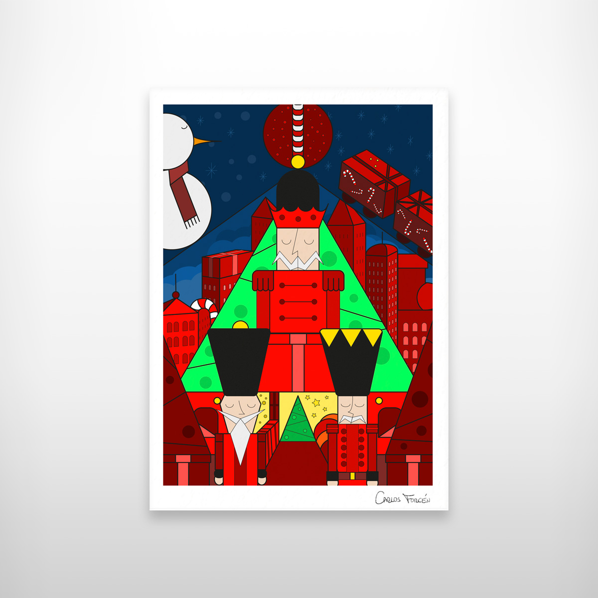 The Nutcrackers - Carlos Forcen Ilustracion exposicion