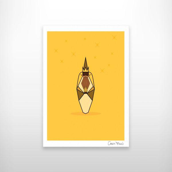 Ilustracion de Baltasar realizada por Carlos Forcen