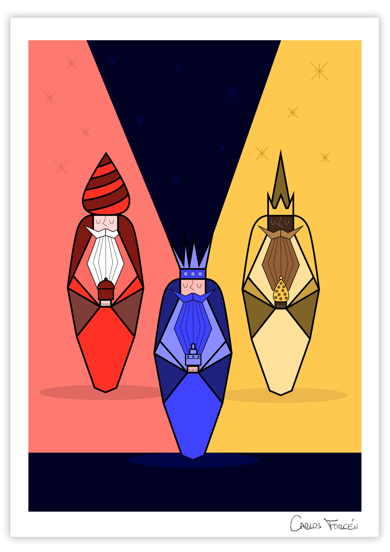 reyes-magos-ilustracion_carlos-forcen_2019-signed