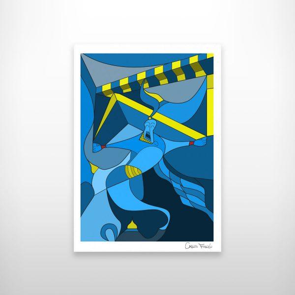"Ilustracion ""Aladdin"""