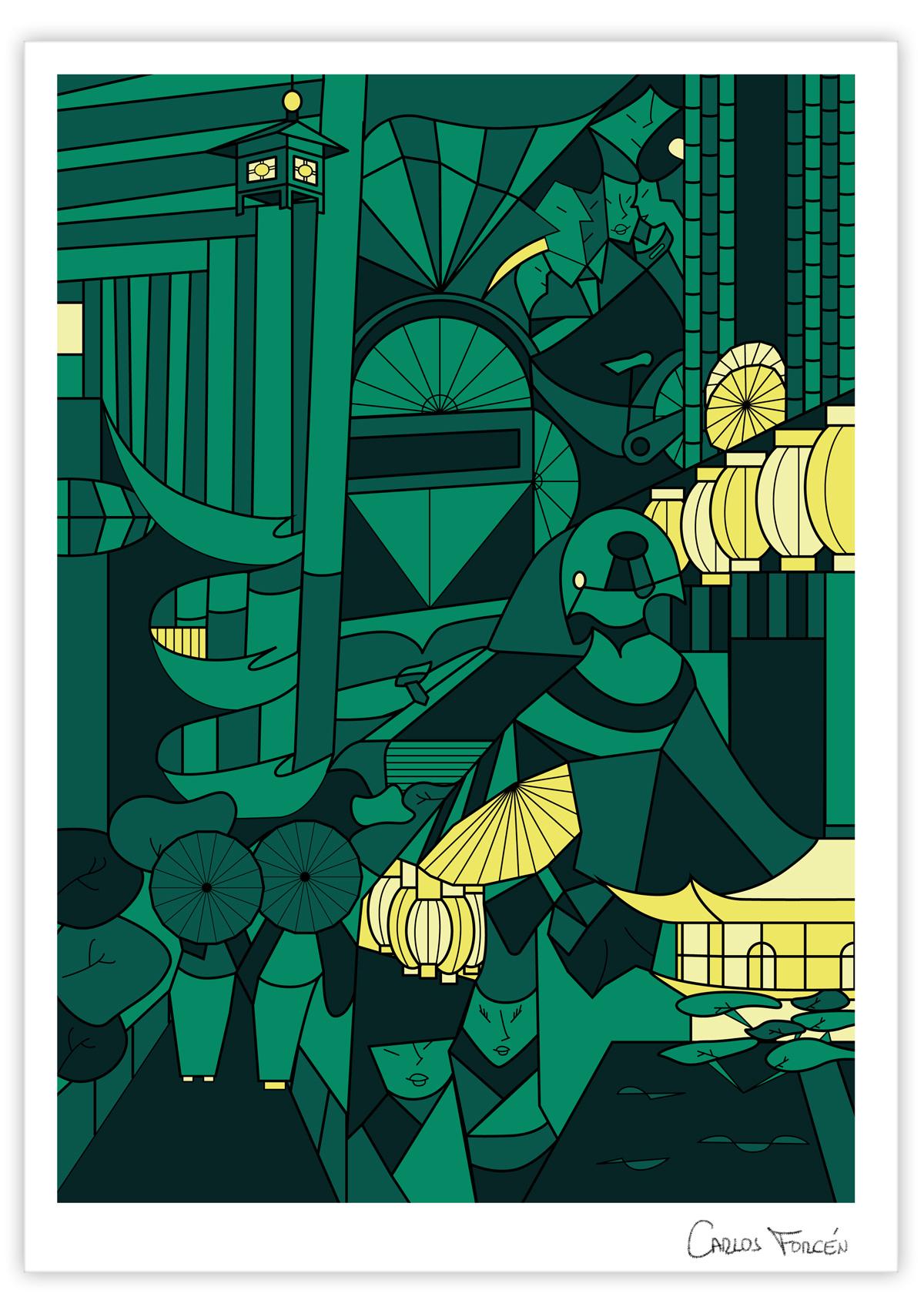 kioto-night_carlos-forcen_ilustracion_signed-01